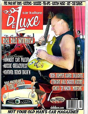 Car Kulture Deluxe April 2008 #27  The Surf Guitar King Dick Dale Interview