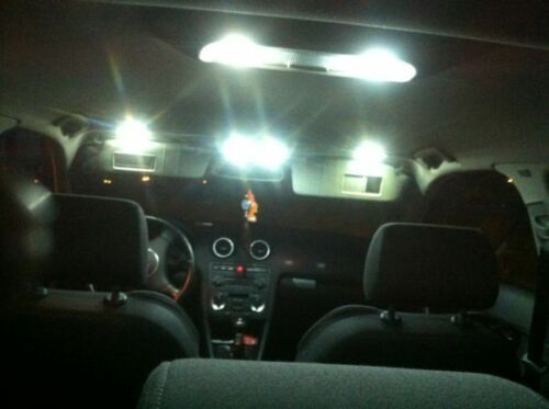 Pack Ampoule LED Interieur Blanc Light pour AUDI A6 C6 éclairage plafonnier