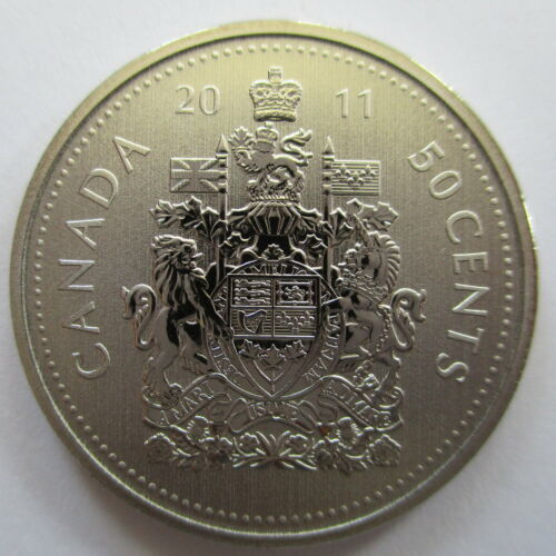 2011 CANADA 50 CENTS SPECIMEN HALF DOLLAR COIN