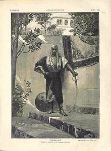Janissaire en Uniforme Sabre Bouclier par Benjamin-Constant Turquie GRAVURE 1882 - France - EBay UNIFORM JANISSARY SABER SHIELD BY BENJAMIN-CONSTANT TURKEY Ottoman Empire France ANTIQUE PRINTGRAVURE 100 % DÉPOQUE 1882 PORT GRATUIT EUROPE A PARTIR DE 4 OBJETS BUY 4 ITEMS AND EUROPE SHIPPING IS FREE Il s'agit d'un fragment de page origin - France