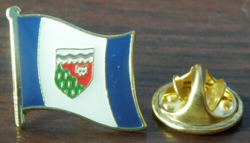 Northwest Territories NWT Flag Lapel Hat Cap Tie Pin Badge TNO