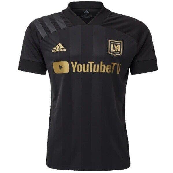 adidas Lafc Los Angeles FC Fl9601 Men's Black Soccer Jersey Size ...