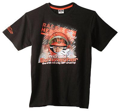 """Original Michael Schumacher T-Shirt """"Challenge Tour"""" schwarz/black MS-11-100"""