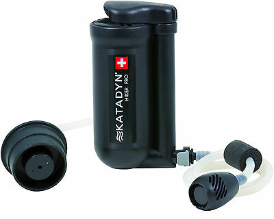 Katadyn Hiker Pro Water Filter  Backpacking Hiking Boy Scouts Purifier Compact