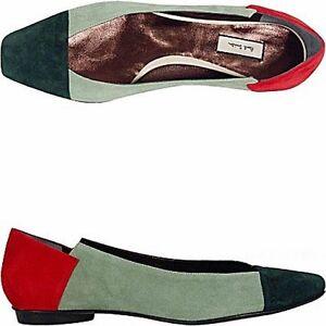 Paul-Smith-ballerina-tricolore-tricolor-flats