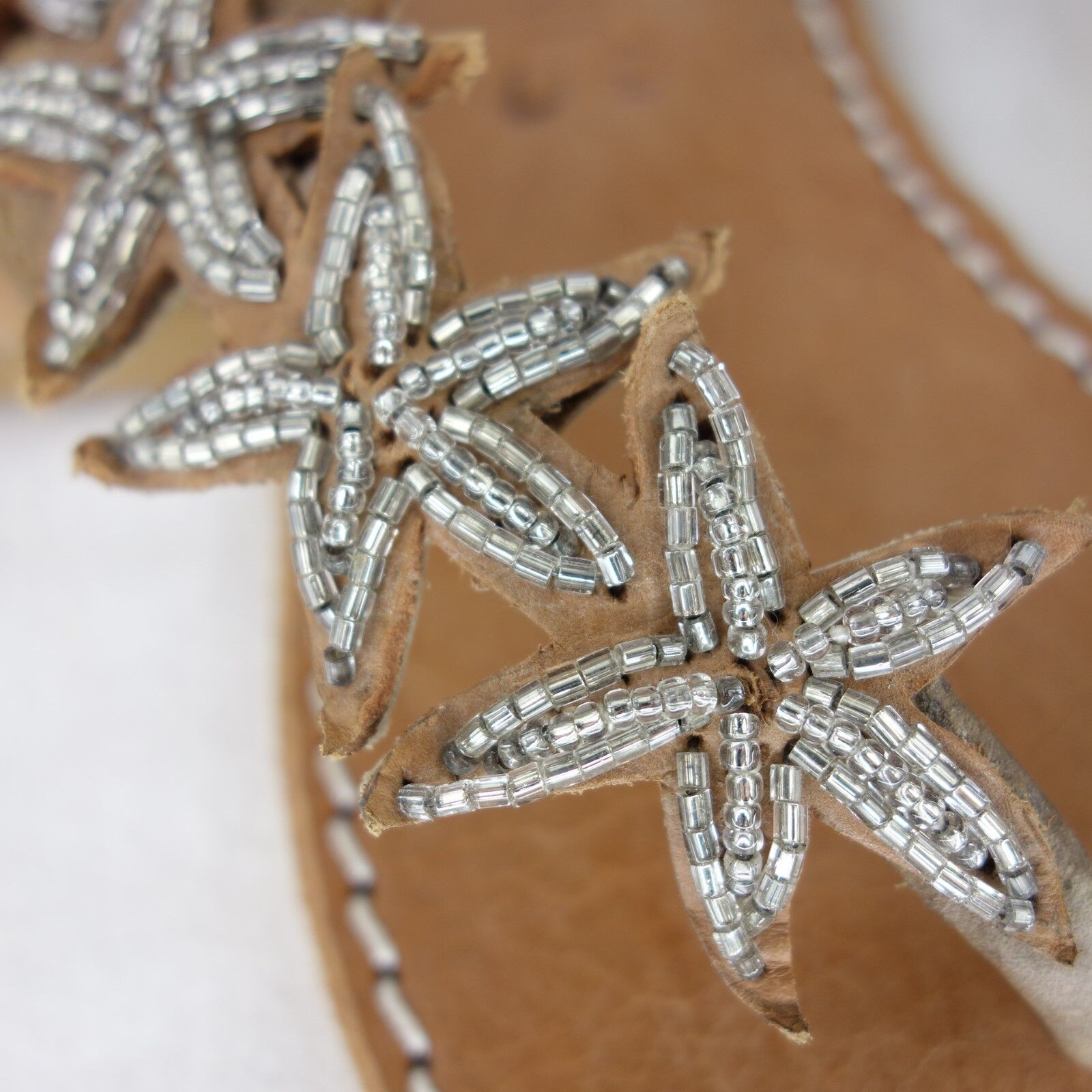 LAIDBACK Stern LONDON Damen Sandalen Zehentrenner Schuhe 36 37 Leder Stern LAIDBACK NEU 69 NP 1bc2bd