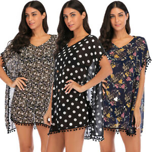 Women-039-s-Polyester-Kaftan-Swimsuit-Bikini-Stylish-Swimwear-Summer-Beach-Cover-Up