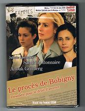 LE PROCÈS DE BOBIGNY - SANDRINE BONNAIRE & ANOUK GRINBERG - 2006 - DVD - NEUF