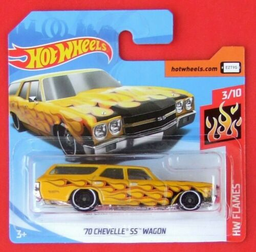 Hot Wheels 2019 /'70 Chevelle SS Wagon 56//250 neu/&ovp