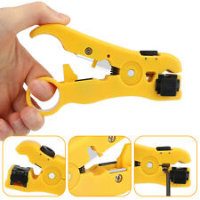 Rotary Coax Coaxial Cable Wire Cutter Stripper Rg59rg6rg7rg11 Stripping Tool