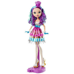 ever after high way too wonderland madeline hatter doll 17 inch tall