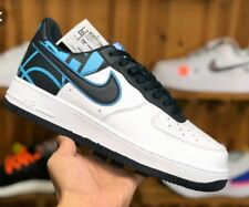 sports shoes 40c5f 51845 item 8 Nike Air Force 1  07 LV8 White  Dark Obsidian Size US 12 Men 823511  105 -Nike Air Force 1  07 LV8 White  Dark Obsidian Size US 12 Men 823511 105