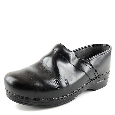 Women's Shoes 2019 Latest Style Online Sale 50% Dansko Professional Xp Black Leather Occupational Clogs Women's Shoe Size 41 M Clothing, Shoes & Accessories