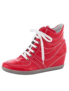 Ara Keilabsatz 4 Zu Weite Sneaker 5 Leder H Details Rot 8 5 Schuhe Stiefelette 9 Wedges WEDI92HY