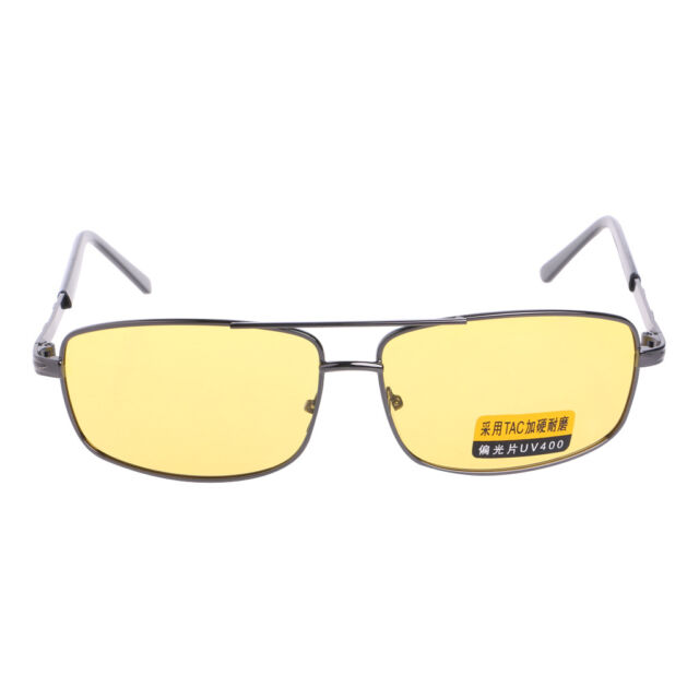 11d1999e3a7 New Yellow Sunglasses Lens Polarized Night Vision Driving UV 400 Eyewear  Glasses