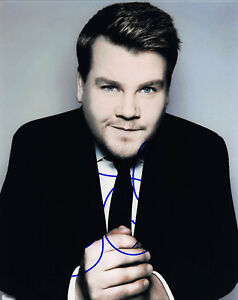 JAMES-CORDEN-SIGNED-8X10-PHOTO-PICTURE-IMAGE-THE-LATE-LATE-SHOW-CBS-5