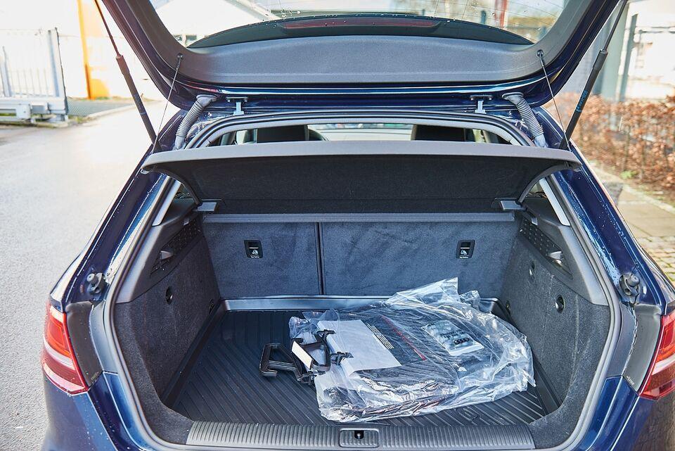 Audi A3 1,4 TFSi 150 Sport SB Benzin modelår 2017 km 91000 Blå