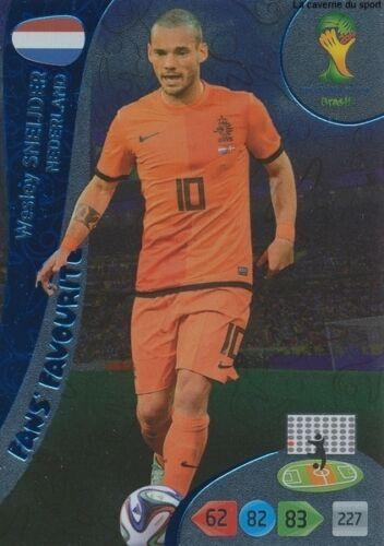 N°346 SNEIJDER # FANS NETHERLANDS PANINI CARD ADRENALYN WORLD CUP BRAZIL 2014