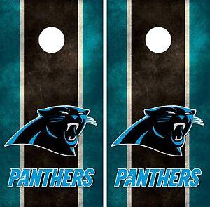 Carolina Panthers Cornhole Board Decal Wrap Wraps Ebay