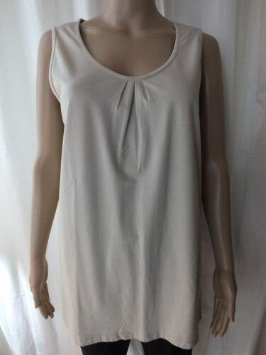 Damen Shirt GINA LAURA Top Longtop S M L XL beige Größe 38 40 44 48    1815//7//78