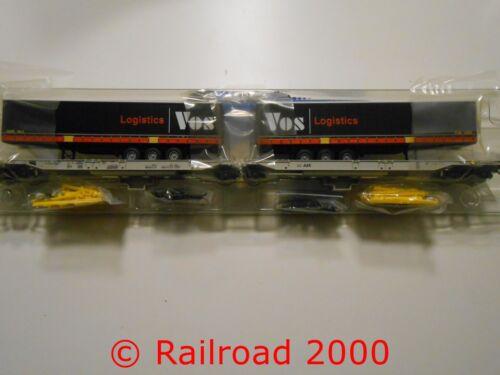 mit Auflieger VOS Roco 76417 Doppeltaschen-Gelenkwagen AAE NEU+OVP