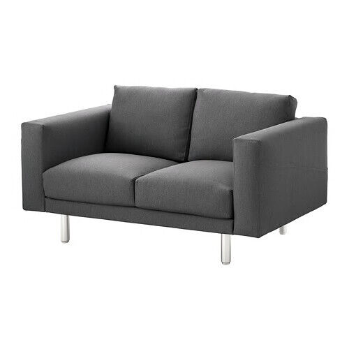 Stupendous Ikea Norsborg 2 Seat Sofa Replacement Cover Only Finnsta Dark Grey Inzonedesignstudio Interior Chair Design Inzonedesignstudiocom