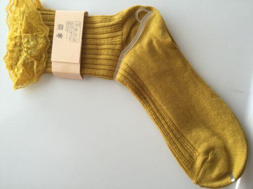 Women Girls Ankle Fancy Retro Cotton Ruffle frilly princess Fashion Short Socks