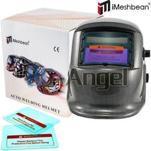 Pro Solar Auto Darkening Welding Helmet Arc Tig Mig Mask Grinding Welder   Y