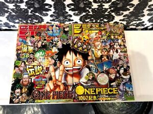 Shonen-Jump-2021-No-3-4-amp-5-6-ONE-PIECE-1000-episode-commemorative-issue-2SET
