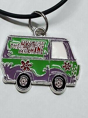 "Scooby Doo Mystery Machine Key Necklace 19/"" long new free ship"