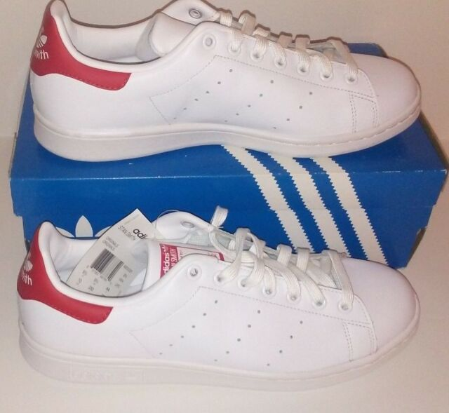 Adidas Original classic Stan Smith redwhite mens sneaker SHOES new