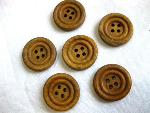 verschiedene Muster,Muster wählbar 10 Holz-Knöpfe  19-22 mm K48