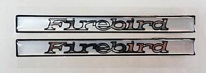 Vintage 80/'s 90/'s Automotive Door Handle Insert Accent Trim FIREBIRD SPI