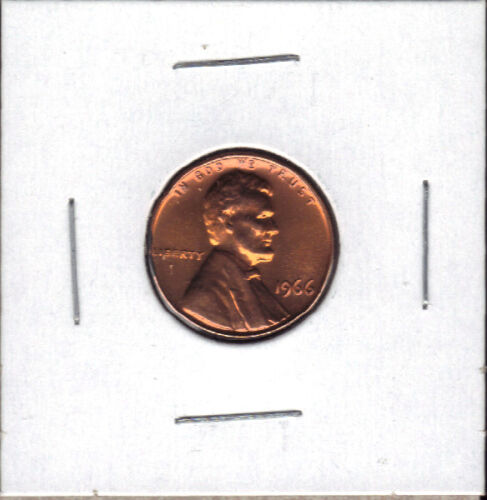 1966 SMS SPECIAL MINT SET UNCIRCULATED LINCOLN CENT//PENNY