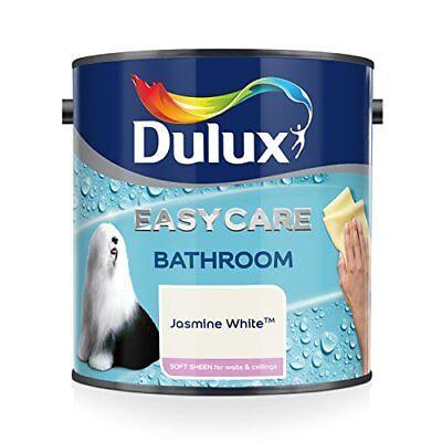 Easycare Bathroom Plus Soft Sheen Paint, Jasmine White, 2.5 Litre