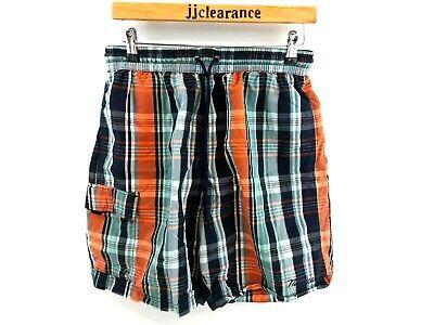 Qualità Al 100% Nautica Da Uomo Swim Shorts M Medium W30 L7.5 Verde Blu Arancione Cotone & Nylon-mostra Il Titolo Originale