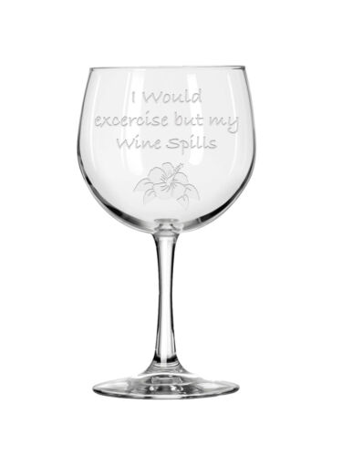 Personalized Engraved Wine Glass,Funny Wine Glass,Etched Wine,Custom Wine Glass