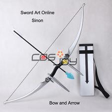 Sword Art OnlineⅡMother's Rosary Sinon's Bow, Arrow, Arrow Holder Cosplay Prop