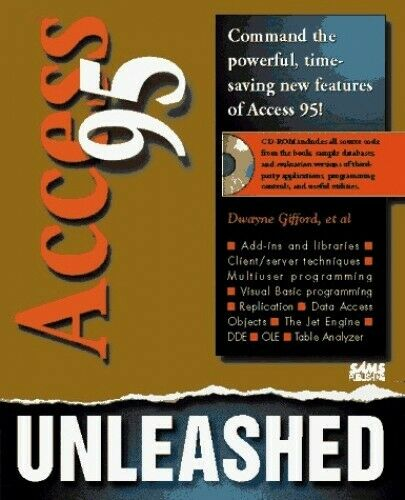 Access Unleashed by Sams Development Group Mixed media product Book The Fast