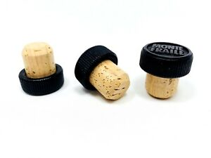 """T-Top Tasting Bar Top Cork Stoppers 19.5mm 3/4"""" Stopper ..."""