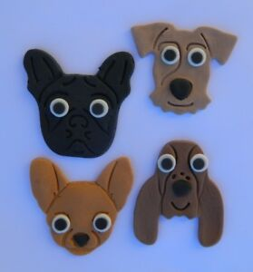 Lower Price with Little Dog Friends Edible Cupcake Toppers Decoration Home & Garden Kitchen, Dining & Bar