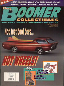 BABY-BOOMER-COLLECTIBLES-June-1995-Hot-Wheels-issue-NMint-cond