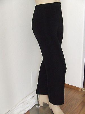 NEW Travel Knit Pant comfy Heavy Acetate//Spandex knit Elastic waist,Dark Brown