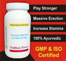 Semen and Testosterone BOOSTER for MEN! Shree Natural Remedies STALLION POWER.