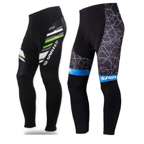 Bicycle Pants for Men Sponeed Outdoor Bike Trousers Biking Tights Wear MTB M-3XL