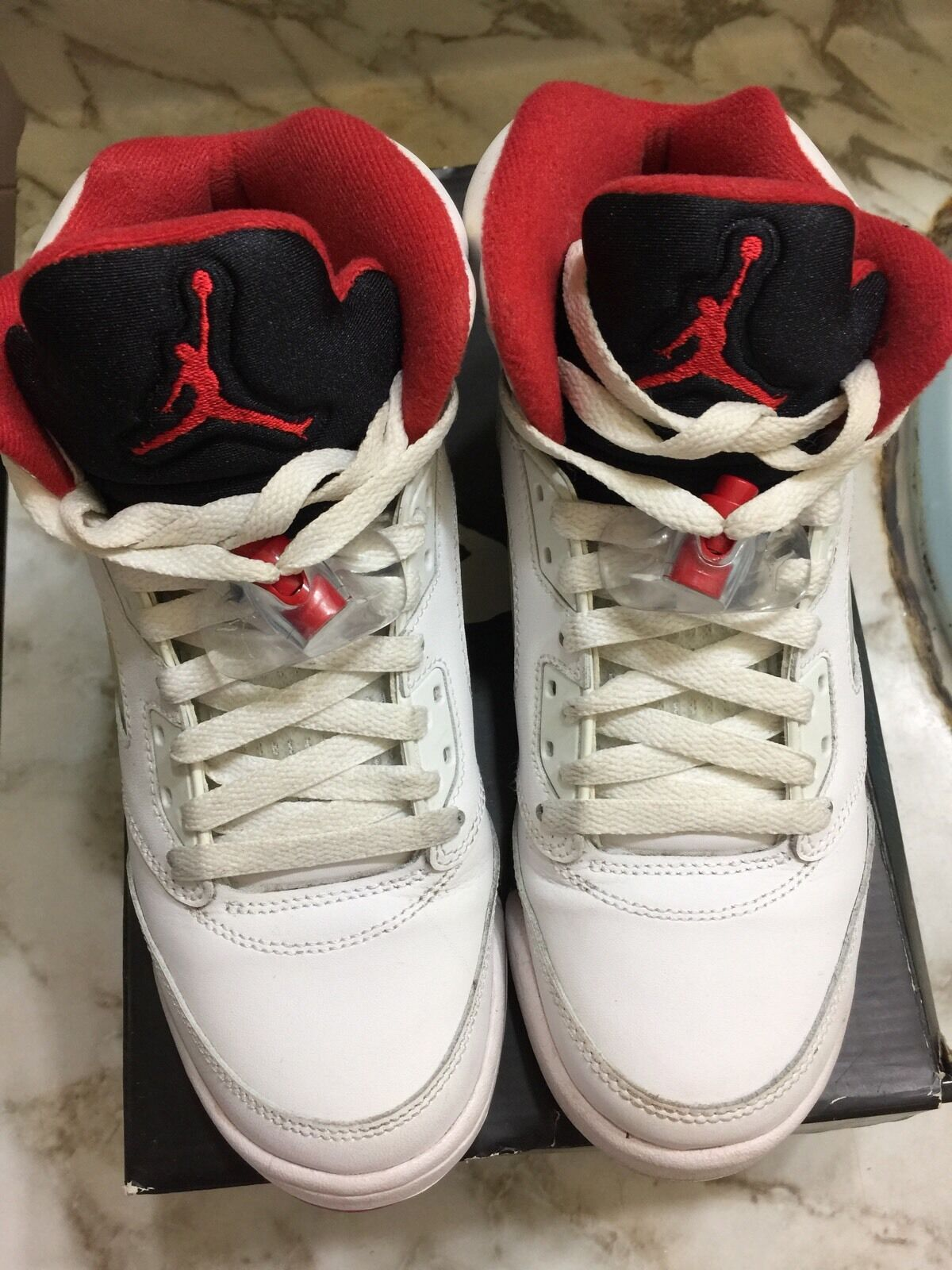 Air Jordan Retro 5 Fire Red Comfortable The most popular shoes for men and women