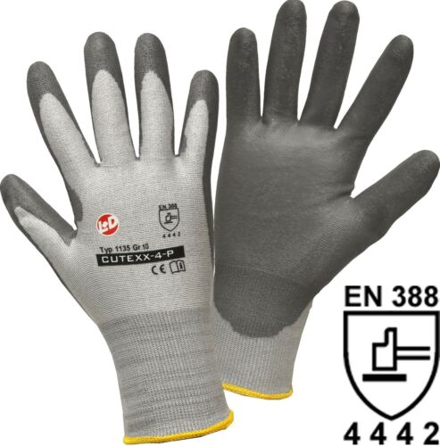 Schutzhandschuhe Arbeitshandschuhe Nylon HPPE-Faser Schnittschutzlevel 4 NEU