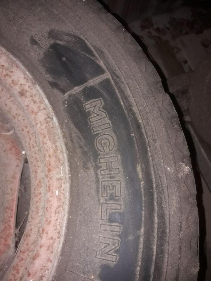 """16 """" Hjul med nye dæk, Michelin"""
