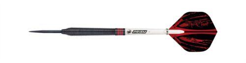 Winmau Ted Hankey Darts Black Onyx Grip 90/% Tungsten Steel Tip