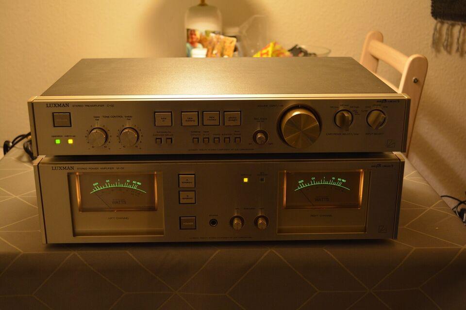 Forstærkersæt, Luxman, M02